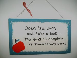 open oven and take a look...