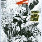 Earth 2 Comic #18 (2013) NM Black & White Variant DC New 52