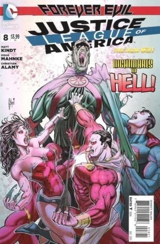 JUSTICE LEAGUE OF AMERICA (2013) #8 1:25 VARIANT / NM / DC NEW 52