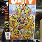UNITY # 1 VALIANT USA LUGE TEAM KINDT BRAITHWAITE REBER VARIANT COVER