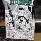 Green Lantern Corps (Vol.3) #25 1:25 Bernard Chang Sketch Variant