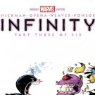 Infinity  #3   Skottie Young Variant 1st print  Thanos RARE!  NM