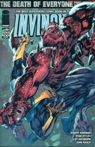 Invincible #100 Variant D Robert Kirkman Ryan Ottley NM