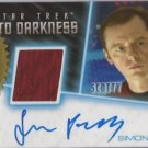 2014 STAR TREK MOVIES SIMON PEGG (SCOTTY) AUTOGRAPH RELIC CARD 6-CASE INCENTIVE