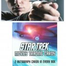 STAR TREK MOVIES 2014 (4) SEALED BOXS OF CARDS - FREE US SHIPPING - 2 HITS / BOX