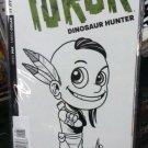 """Turok Dinosaur Hunter #1 1:400 Ken Haeser """"Hand-Drawn Kid Turok"""" Signed w/COA"""