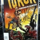 Turok Dinosaur Hunter #1 Variant 1:100 Greg Pak Signature Edition COA 2014