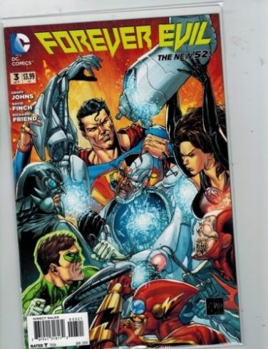 Forever Evil #3 Crime Syndicate Variant with Batman, Superman, and Green Lantern