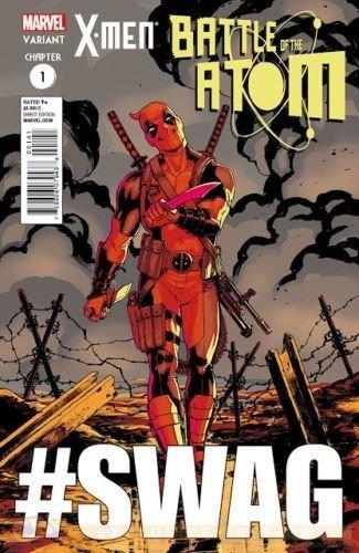 X-MEN BATTLE OF THE ATOM #1 DEADPOOL #SWAG FRANK CHO VARIANT COVER MARVEL NOW