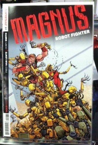 Magnus Robot Fighter #1 1:50 Tom Fowler Variant Dynamite Entertainment