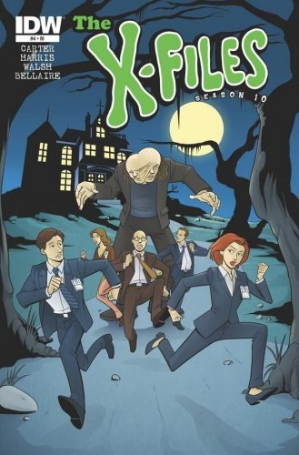 The X-Files Season 10 #4 Scooby Doo Sharp Brothers Variant VF/NM