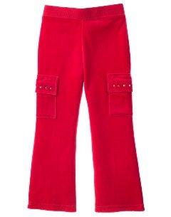 Size 5 Gymboree Sugar & Spice Velour Pants NWT