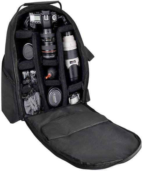 Camera/Video Padded Backpack for Sony Nikon Canon Olympus Panasonic Samsung