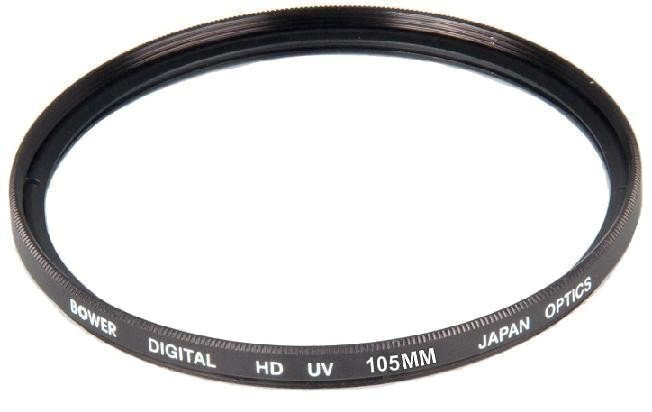 Bower 105mm Digital HD UV Lens Filter For Canon Nikon Sigma Tamron