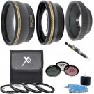 Lens Filter Starter Kit For Canon EOS T7i T6i T6s T6 T5i T4i T3i T2i T1i SL2 SL1 T5 T3