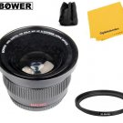 Bower VLB46 Angle FISHEYE Lens with For Nikon D5500 D5300 D3300 D3200 D3100