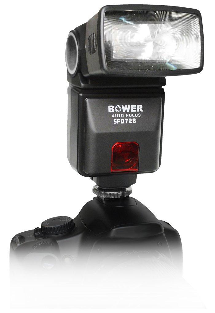 Bower SFD728N Dedicated Autofocus i-TTL Flash for Nikon DSLR Camera (Black)