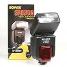 Bower SFD35N Digital AF Dedicated Flash For Nikon DSLR Cameras (Black)