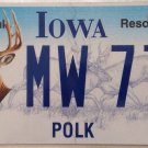 Iowa natural resources deer license plate hunting hunt buck Wild Hunter Gun Bow