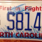 North Carolina NC State University license Plate Basketball NCAA Wolfpack Raleig