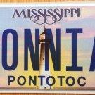 MS vanity SONNIA license plate SONIA Sonya Sonja Sonni Ansonia Sonnja Sonnie Son