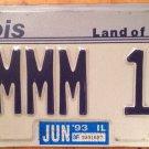 IL vanity HMMM Think 18 license plate Thinking YES Hesitate Hum Decision Singing