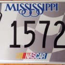 NASCAR CARL EDWARDS driver #99 license plate #1572 Stock Car Racing FORD FUSION