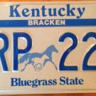 Semi vanity TRP 222 State TROOPER license Plate Triple Digit 2 Number Police Cop