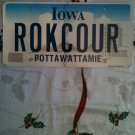 IA vanity ROKC OUR Rocker license plate Rock and Roll Dancing Dance music song