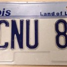 IL vanity BCNU Be Seeing You 1989 license plate Bye Bye Later Goodbye Farewell