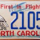 North Carolina Endangered Wildlife optional license plate Wild Bird Cardinal