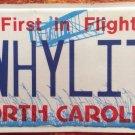 NORTH CAROLINA vanity TWiLIGHT license plate Why Saga Vampire Bella Edward