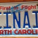 North Carolina vanity EINAI License Plate Gal Hebrew Jewish Kabbalah Judaism Jew