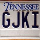 Tennessee vanity G JKI license plate Jackie Jaki Jeki Jiki Jacob Jake Jacqueline
