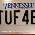 Tennessee vanity 1 ToUgh 4 ED  license plate Education school teacher Edwards TN