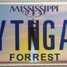 MS vanity WRITING GAL license plate  Writer Girl Poet Novelist Lawyer