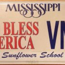 GOD BLESS AMERICA license plate Patriotic September 11 United Stand 9/11 Christ
