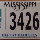 American DIABETES Association license plate Tour Cure Expo ADA Walk Stop Ride
