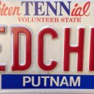 Tennessee vanity MEDical CHEMistry license plate
