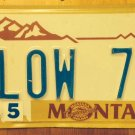 MT Centennial vanity LOW 70 license plate Age Old Height Tall Weight Temperature