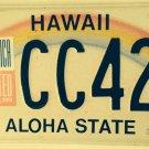 Hawaii AMERICA UNITED September 11 license plate 9/11 9.11 Terrorism We Stand