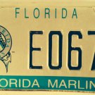 FLORIDA MARLINS license plate Miami MLB Baseball Park World Series League