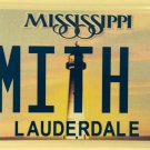 Vanity SMITH A license plate Smithson Smitty Smyth Smythe Smithyn Wesson