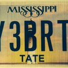Vanity MY 3 BRATS license plate Children Family Kid Child Money Spoil
