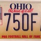 NFL PRO FOOTBALL HALL OF FAME license plate League Broncos Patriots Super Bowl
