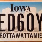 Vanity WED 60 YEARS license plate Diamond Wedding Anniversary Marriage Love Year