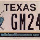 Texas BUFFALO SOLDIERS license plate #24 Bob Marley Horse Cavalry Indian War Gun