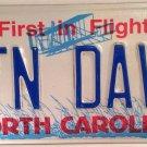 NORTH CAROLINA vanity MOUNTAIN DAVE license plate David Davis Hiking Wild Park
