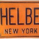 York vanity SHEL BEN license plate Shelley Shelby Benjamin Sheldon Sheila Ford