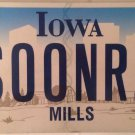 Vanity University OKLAHOMA SOONERS license plate Norman Boomer Sooner NCAA 2016